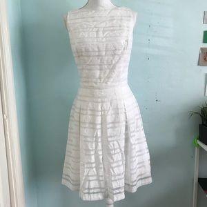 Lauren Ralph Lauren white sleeveless dress sz 8